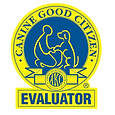 AKC CGC Evaluator Badge