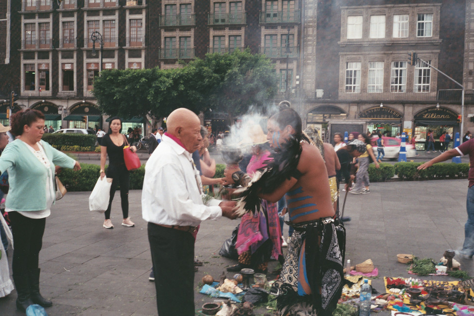 Cleansing, Mexico City, 2017