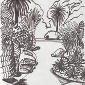 Centennial Park Sketch