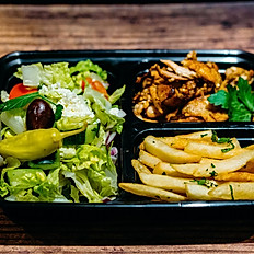 Chicken Gyro & French Fries Boxed Lunch