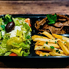 Lamb and Beef Gyro & French Fries Boxed Lunch