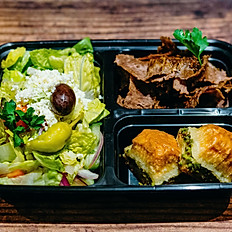 Lamb and Beef Gyro & Baklava Boxed Lunch