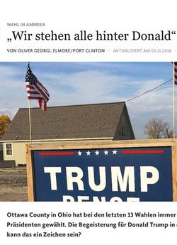 Trump-Land Elmore County, Ohio