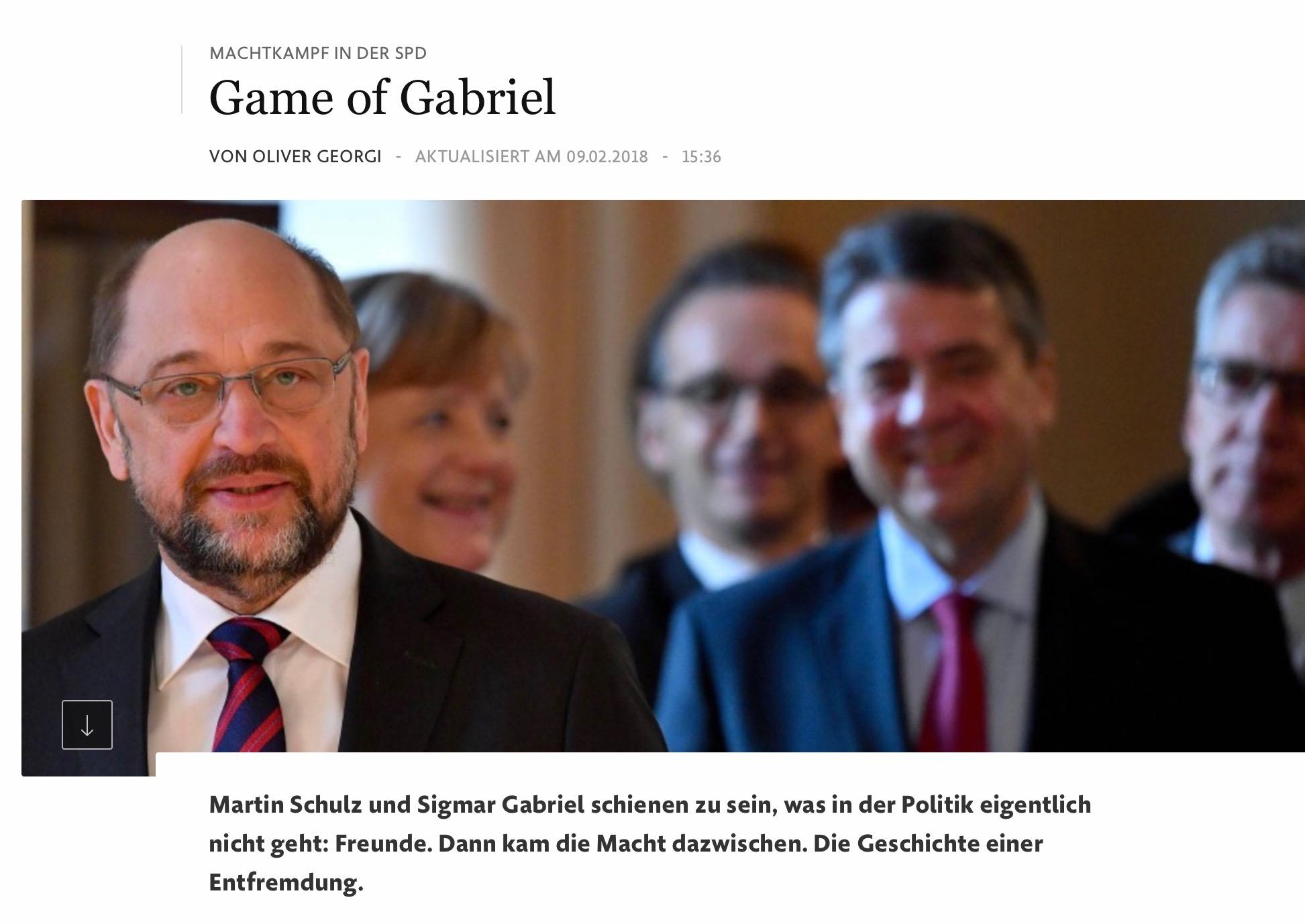 Machtkampf in der SPD
