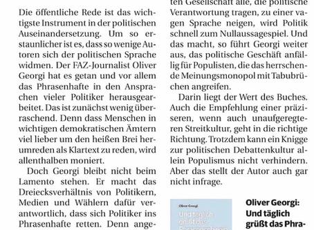 """Rezension in der """"Rheinischen Post"""""""