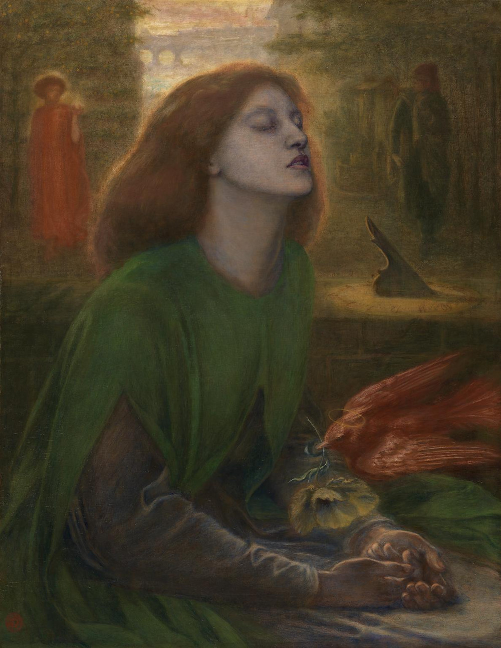 Beata Beatrix by Rossetti