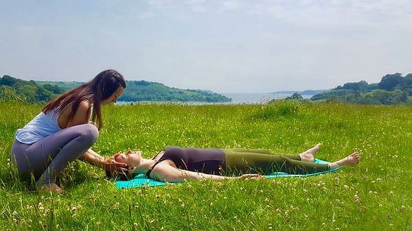 Private and corporate yoga sessions in Cornwall - Romy Yoga