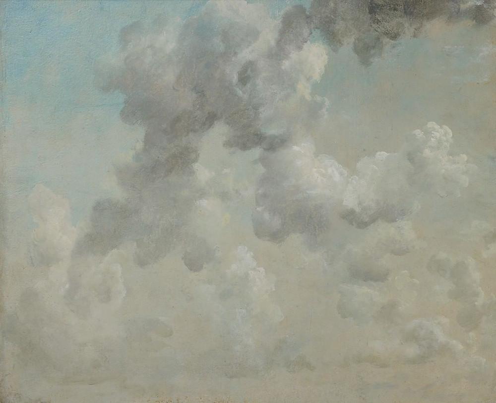 Constable, Cloud study, 1822. Ashmolean Museum.