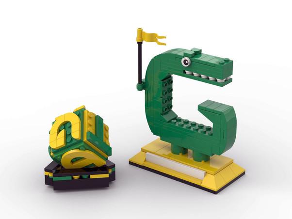 Gatewood Gator Custom Lego Collector Set