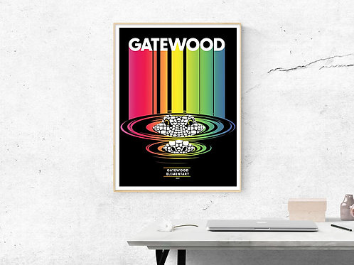 Gatewood Art Prints Set (4 posters)