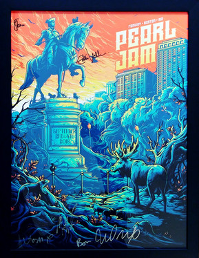 *LIVE* Pearl Jam Poster - Front