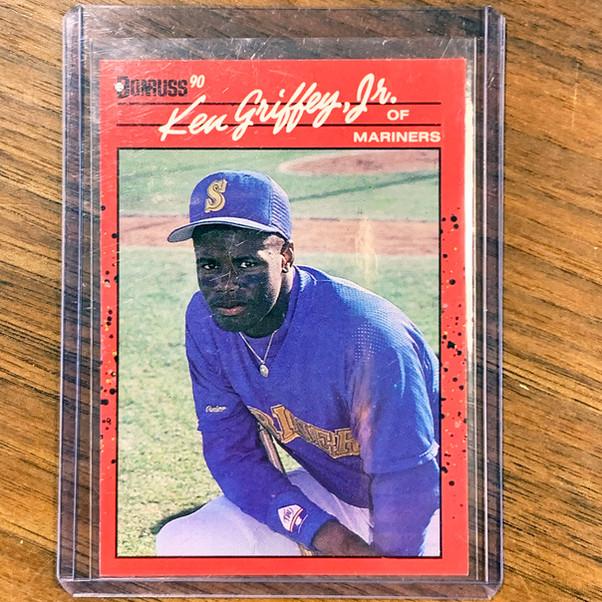 Mariners Baseball Cards Collectors Set - Detail