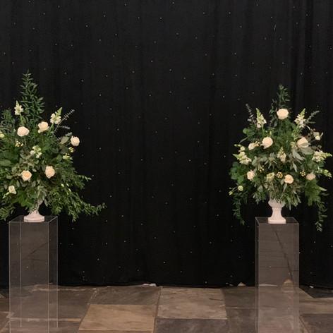 Wedding pedestals