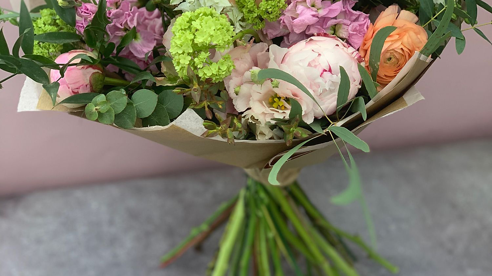 Luxury Peony and Rose bouquet