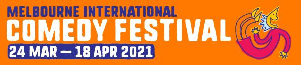 Melbourne International Comedy Festival 2021 Logo