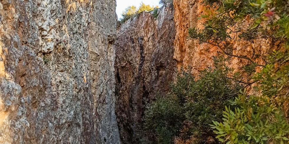 Senderismo en Collserola - Les Escletxes del Papiol