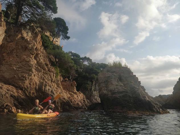 Kayak + Hike Costa Brava