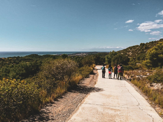 Hike from Garraf to Sitges