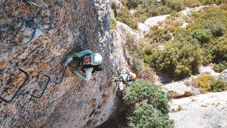Via Ferrata Morera del Montsant in Priorat paradise (Begginers)