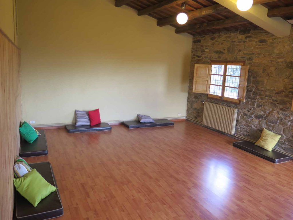 Yoga and activity room