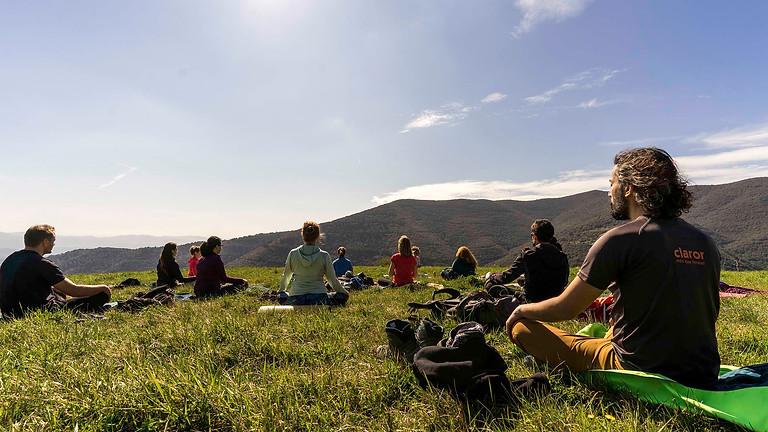 Conscious hike + Yoga @la Garrotxa and its waterfalls
