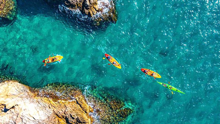 Platja d'Aro - Kayaking and hiking at the Costa Brava