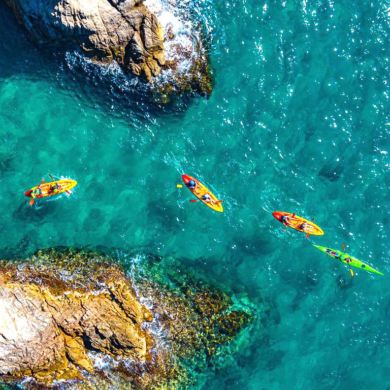 Platja d'Aro - Kayaking & Hiking en la Costa Brava - SENDERISMO Y KAYAK