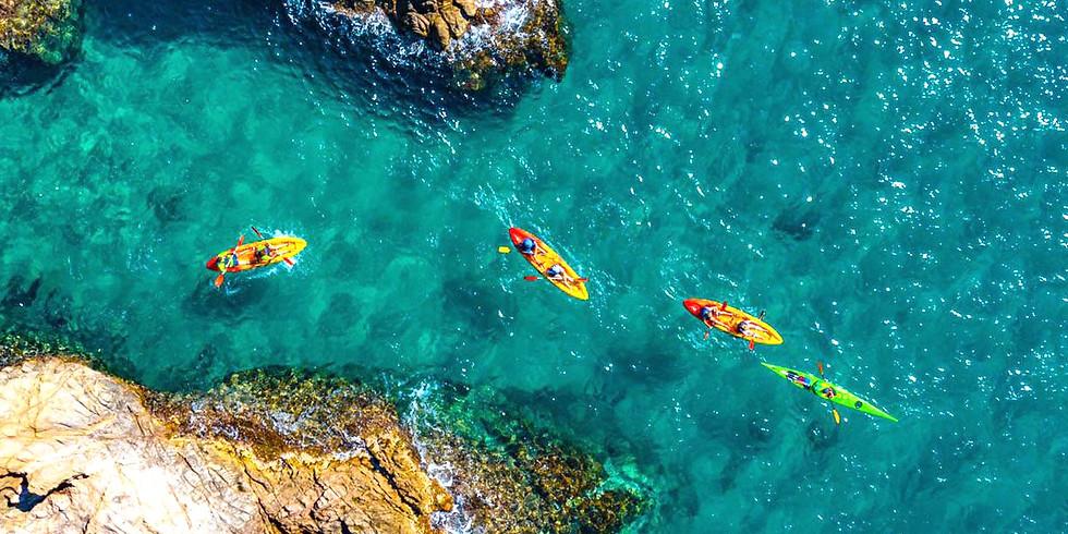 Platja d'Aro - Kayak y senderismo en la Costa Brava