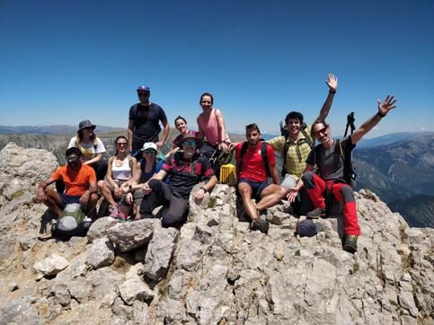 """Hike up to """"el Pedraforca"""""""