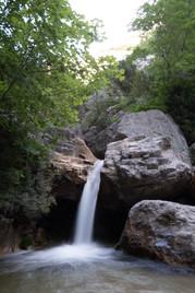 Cascada en Torrent del Penedís