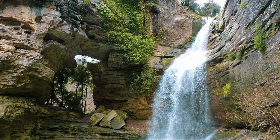 La Foradada de Cantonigrós, a fairy-tale waterfall