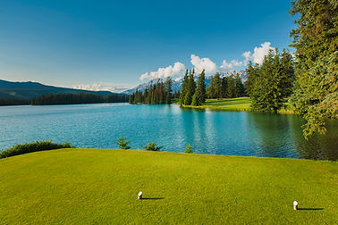 Hole 14 - Lac Beauvert - View from White