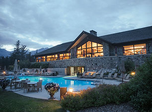 Main Lodge - View of Terrace and Pool.jp