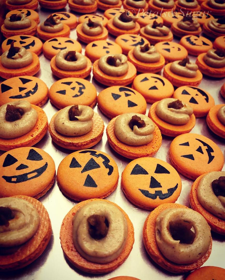Halloween Macarons Sarasota
