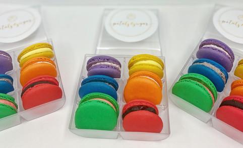 Rainbow Macarons Sarasota