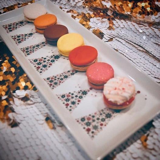 Christmas Macarons Sarasota