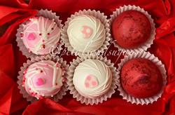 Valentines Day Cake Truffles