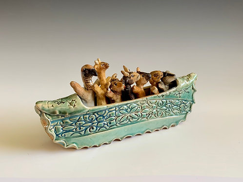 Celadon Blues Boat 2