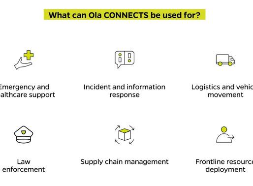 Ola opens its tech-platform to Indian Govt to fight coronavirus crisis