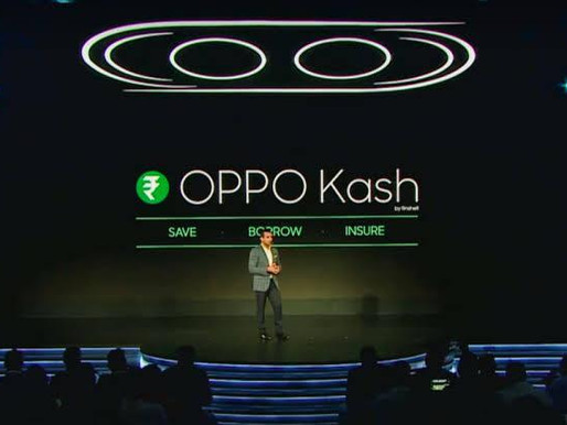 """Smartphone maker Oppo launches financial services """"Kash"""""""
