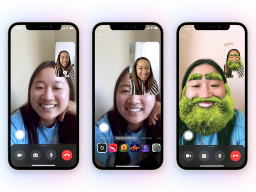 Facebook messenger is adding new AR experiences for group video calls