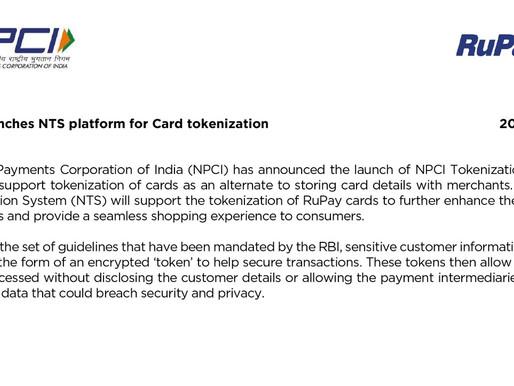 NPCI solves subscription payment problem with tokenization system