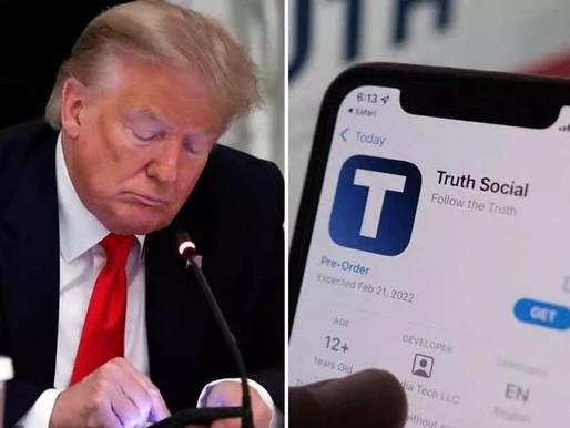 Trump launches his own social media platform, called TRUTH Social