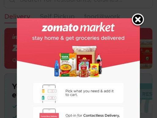 Zomato likely to shut its grocery vertical Zomato Market