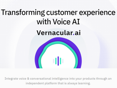 Vernacular.ai raised $5.1 million in Series A from Exfinity Ventures & others