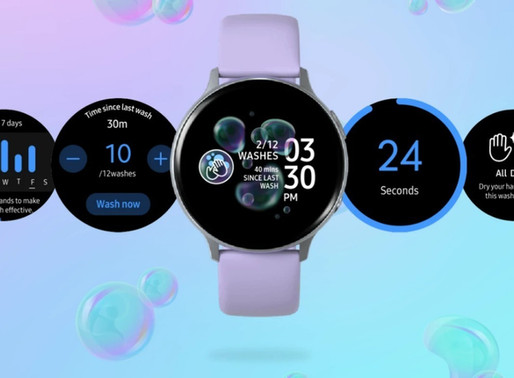 Samsung's new Galaxy Watch app reminds you to wash your damn hands