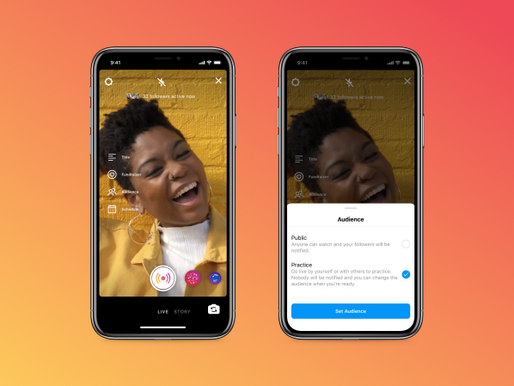 Instagram adds scheduling and 'practice mode' features for Live creators