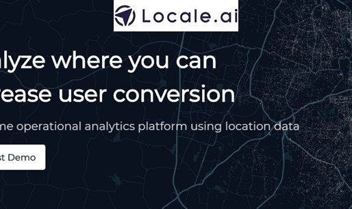 Location analytics startup Locale.ai raised an undisclosed pre-seed funding from Better Capital