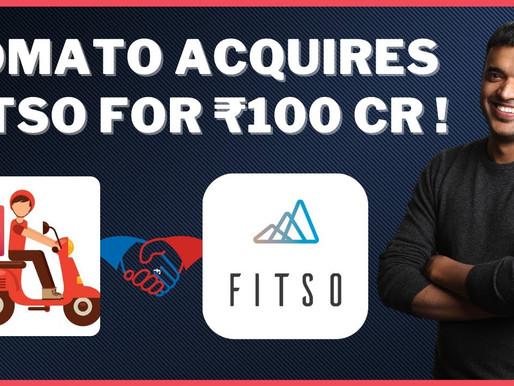 Zomato acquires sports startup Fitso
