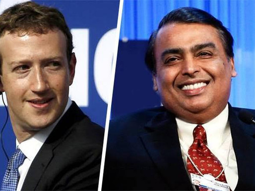 Facebook buys 9.99% stake in Jio Platform for $5.7 billion (Rs 43,574cr)